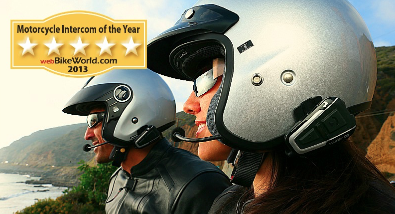 Scala Rider Q3 Multiset motorcycle intercom - best of the year 2013