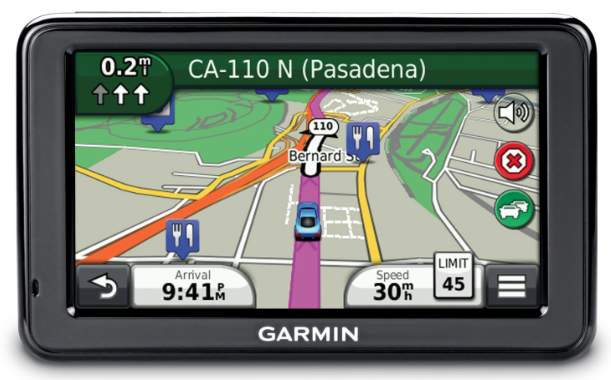 Garmin nuvi 2495LMT Motorcycle GPS device