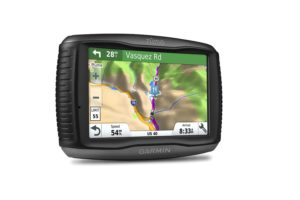 Garmin Zumo 595LM Motorcycle GPS - view mode